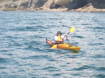 Eagle Eye Outfitters: Kayak Seal Wolf Island